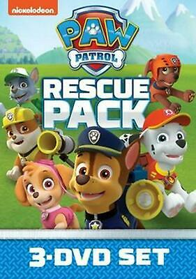Paw Patrol:rescue Pack - DVD Region 1 Free Shipping!