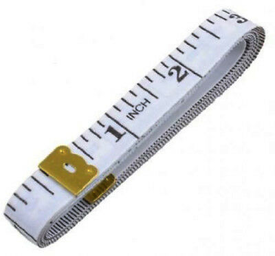 1 Pc Body Measuring Ruler Sewing Cloth Tailor Tape Measure Flat 60Inch 150Cm
