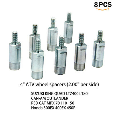 """5/"""" WHEEL SPACERS for YAMAHA RAPTOR ATV fits 350 660 or 700 cc 2.5/"""" per side"""