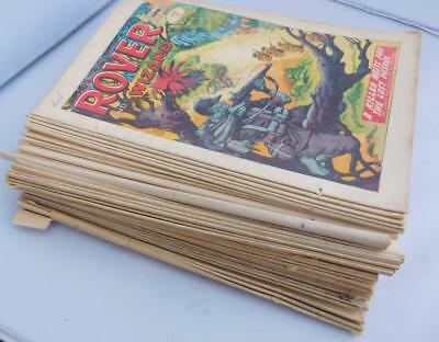42 x Rover Wizard 1965 DC Thomson comics 1960s collection job lot bundle