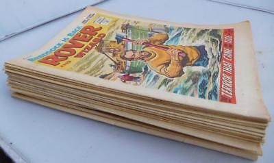24 x 1966 Rover & Wizard DC Thomson comics 1960s collection set job lot bundle