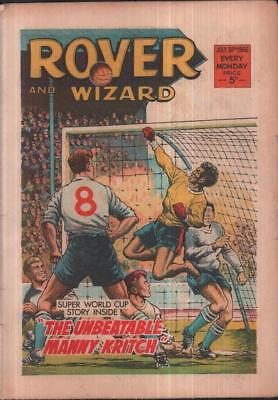 Rover & Wizard July 30th 1966 World Cup story DC Thomson comic