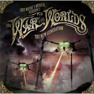 Jeff Waynes Musical Version Of The War Of The Worlds  The New Generation [CD]