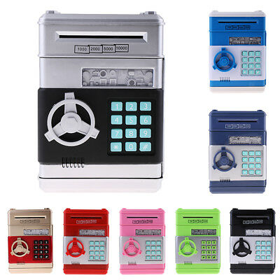 Password Save Box Automatic Cash Piggy Bank Coin Can Money Saving Box B-day Gift