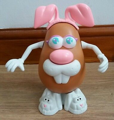 Mrs Potato Head. Playskool. Easter Bunny Rabbit. 1985 Base.