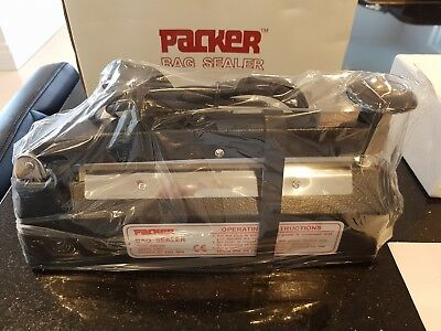 Packer 200mm Impulse Bag Sealer, 200mm x 2mm Seal PBS-200