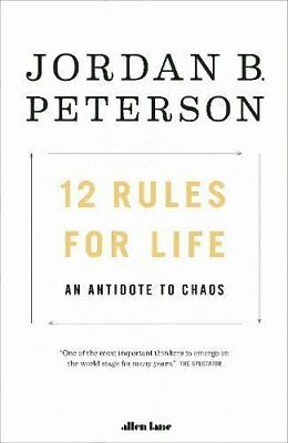 12 Rules for Life by Jordan B. Peterson (New Paperback book, 2018)