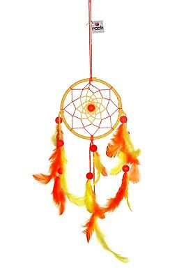 Rooh dream catcher  Yellow  (small)  Handmade Hangings for Positivity