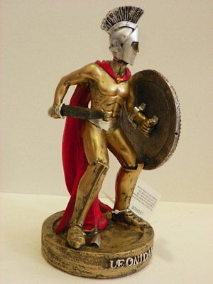 Leonidas Spartan Warrior 8.7'' Figurine Statue Historical Greek Mythology