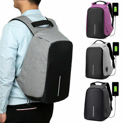 Anti Theft Laptop Backpack 15.6 Inch Business Bag Computer Water Resistant Case