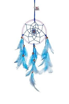 Rooh dream catcher Blue and White (small) Handmade Hangings for Positivity
