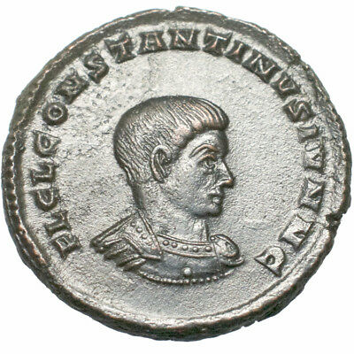 Constantine II. Ae 3. Trier. 337-340 A.D..   Extremely Fine. .  2487.