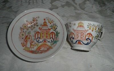 Antique Japanese Cup & Saucer
