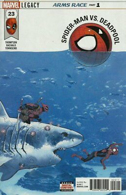 SPIDER-MAN / DEADPOOL ISSUE 23 - FIRST 1st PRINT - MARVEL LEGACY