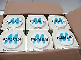 """PARAFILM M ROLL 125ft x 4"""". (10cmt x 38mt) BRAND NEW. FREE SHIPPING."""