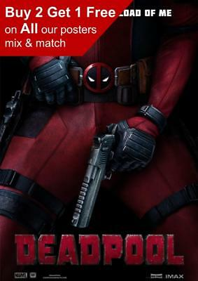 Marvel Deadpool Movie Poster A5 A4 A3 A2 A1
