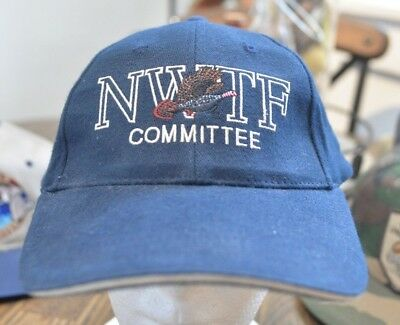 60d1ea95ff8 Pre-owned National Wild Turkey Federation Committee NWTF baseball cap hat