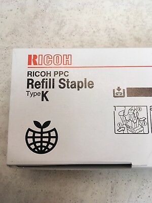 RICOH REFILL STAPLES TYPE K No. 502R-AM 3 CARTRIDGES/BOX, BRAND NEW | UNOPENED