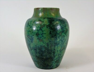 Pierrefonds Crystalline Glaze French Art Pottery Vase Circa 1910