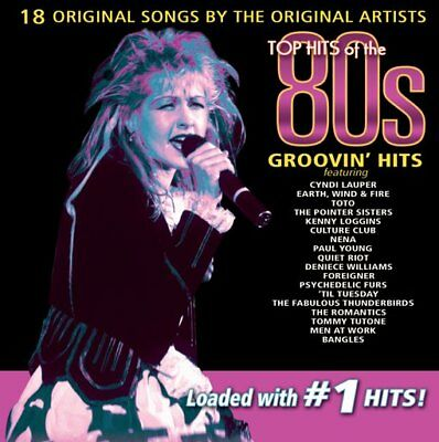 Top Hits of the 80s: Groovin' Hits NEW CD