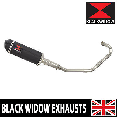 CB125F GLR125 (1 WH-F) 15-18 Full Exhaust System Carbon/Carbon Silencer 300CT