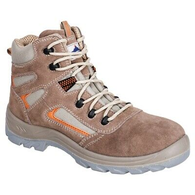 Portwest Reno Mid Cut Work Boots Composite Toecap Metal Free Safety