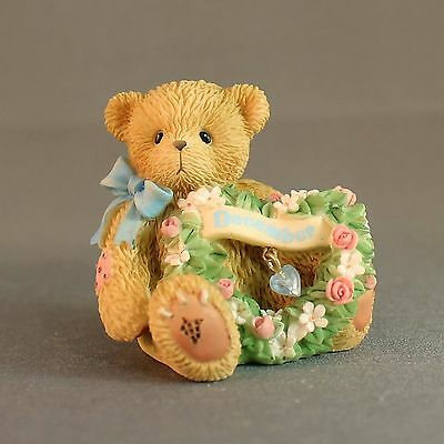 Cherished Teddies Sparkling Hearts 111894 December Mini Monthly Series 2003 LE