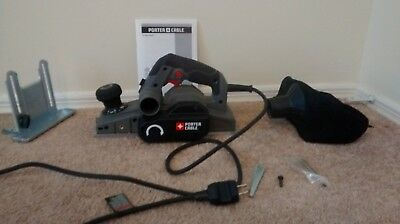 Porter Cable 6 Amp Hand Planer PC60THP with Hard Case