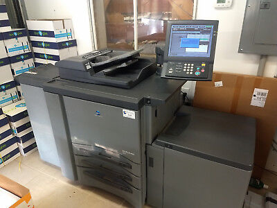 KONICA MINOLTA BIZHUB Pro 950 Copier/Press - as is 4889108 clicks LCT, finisher