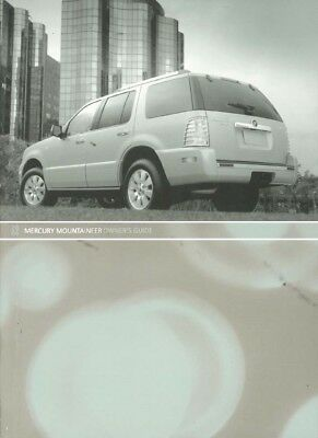 06 2006 mercury mountaineer owners manual with navigation 99 95 rh picclick com 2006 Mercury Mountaineer Engine Diagram 2006 Mercury Mountaineer Engine Diagram