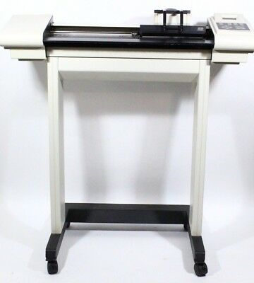 Houston Instruments Dmp-161 Pen Plotter Mp80 Pen Holder Cables & Rolling Stand