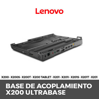Dock Lenovo Ultrabase Thinkpad X201 X201I X201S X201T X201 Tablet