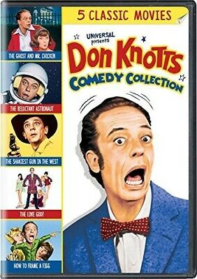 Don Knotts 5-Movie Collection 191329047354 (DVD Used Like New)