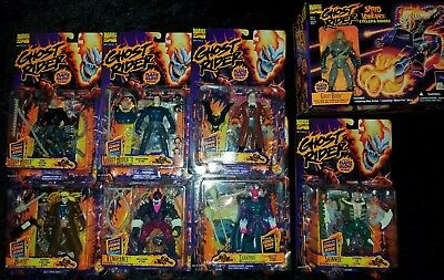 Marvel Ghost Rider Spirits Of Vengeance Cycles & Riders Toy Biz New