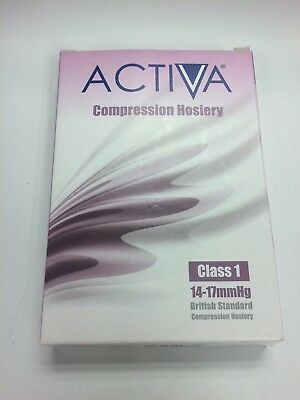 Activa Class I Compression Socks Below Knee Compression Hosiery Sand Large