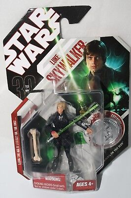 New Star Wars Return of the Jedi Luke Skywalker & Coin 30th Anniversary 2007