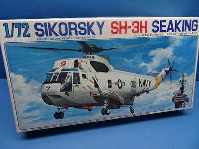"""1/72 Fujimi (1984): Helicopter  Sikorsky SH-3H  """" Seaking """" ( 3 Decal Optionen)"""
