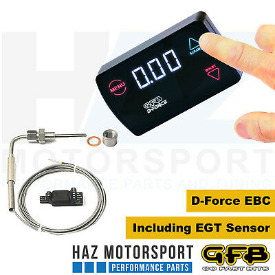 GFB Go Fast Bits D-Force Diesel Electronic Boost Controller With EGT Sensor 3007