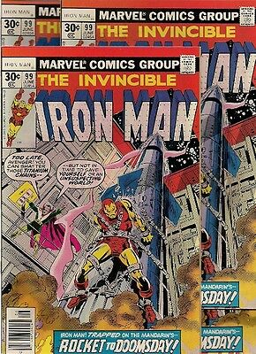54 unread COMICS back to the 70s:  IRON MAN #95, 97, 99 & 233(ANT MAN)