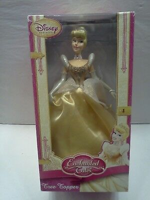 Vintage Disney Princess Cinderella Enchanted Tales Tree Topper - New In Box