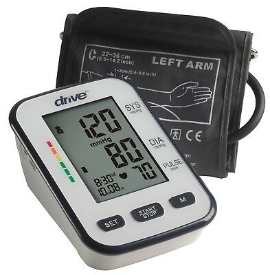 Deluxe Automatic Blood Pressure Monitor, Upper Arm, Drive Medical BP3400