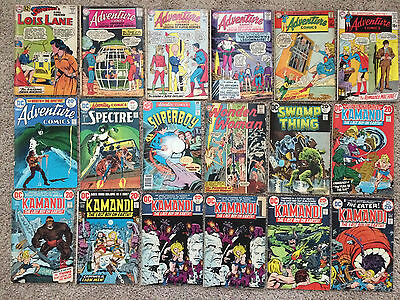 HUGE DC Comic Book Lot 86 Books - Silver Bronze Age Mixed Wonder Woman and More!