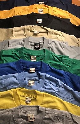 Lot of 100 Vintage 80s Screen Stars Blank Kids TShirts Youth Small 6-8 10 colors