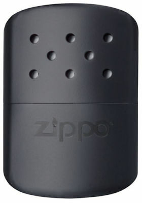 Zippo (40334) Deluxe Hand Warmer In Black Includes Pouch 12 Hour / Aussie Stock