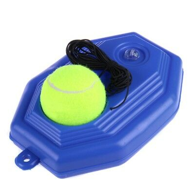 Tennis Ball Back Base Trainer Set + Training Ball For Single Practice Training