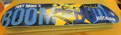 "Autographed Tony Hawk ""boom Boom"" Skateboard Deck - Approx 32 X 7.5 Inches-Mint"