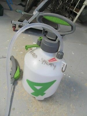 Hills 4 litre Garden Weed pump sprayer USED ONCE Very Clean P/U W Footscray