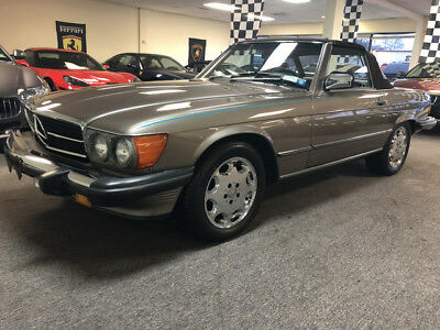 1987 Mercedes-Benz SL-Class Base Convertible 2-Door 560 free shipping warranty low mile collector cheap clean carfax 560sl