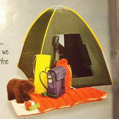 Magic Attic Doll 3 Camping Sets Sleeping bag, backpack, + more  - American Girl
