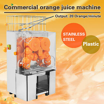 Automatic Commercial Electric Orange Squeezer Juice Extractor Lime Citrus Maker